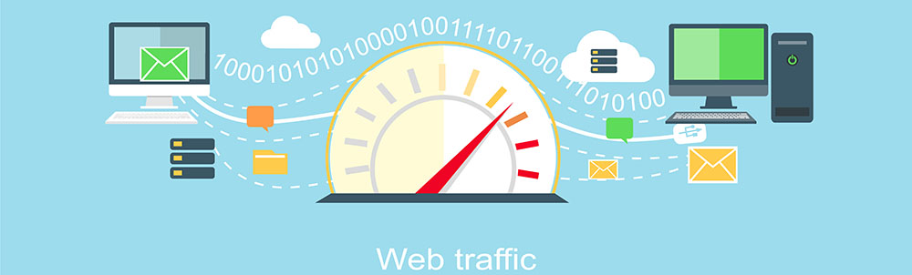web traffic large